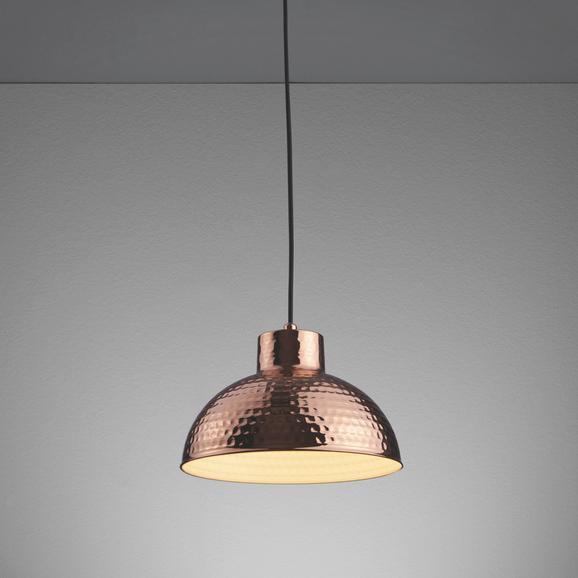 Hängeleuchte Lukas - Bronzefarben, MODERN, Metall (25,5/25,5/120cm) - MÖMAX modern living