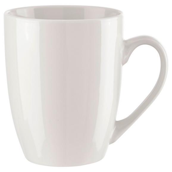 Cană Pentru Cafea Katrin - alb, Konventionell, ceramică (8/10cm) - Based