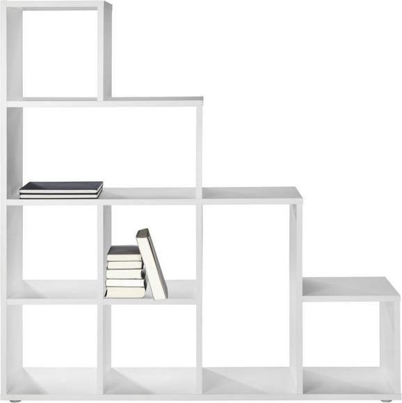 Raumteiler Weiß - Weiß, Holzwerkstoff (149/153/33cm) - Mömax modern living