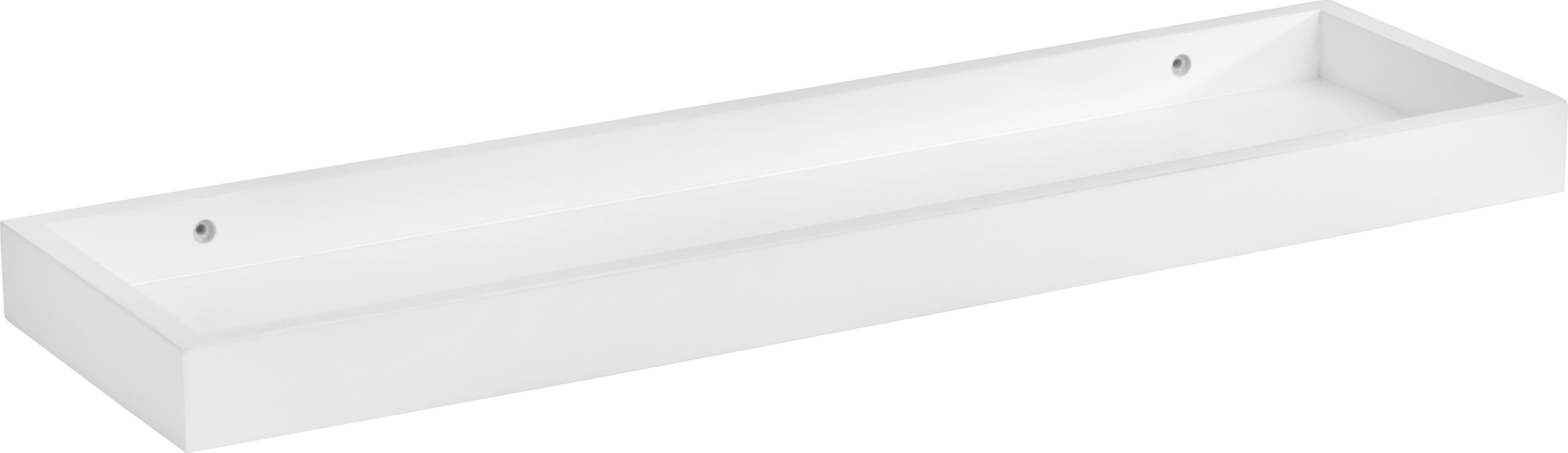 Falipolc Vallerie -sb- - fehér, romantikus/Landhaus, faanyagok (60/4/16,9cm) - MÖMAX modern living