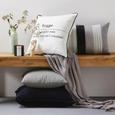Okrasna Blazina Steven - siva, tekstil (45/45cm) - Mömax modern living