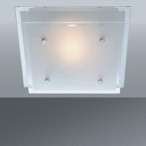 Stropna Svetilka Adam - Konvencionalno, kovina/steklo (24/24cm)