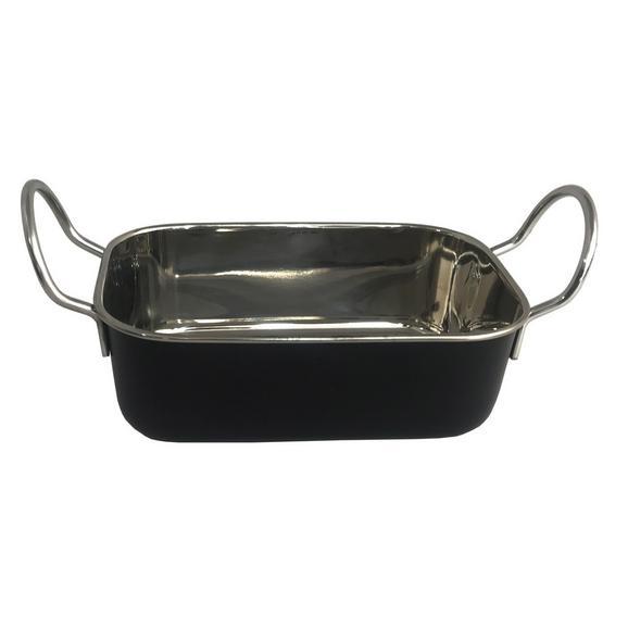Servierpfanne Fries aus Metall ca. 500ml - Schwarz, MODERN, Metall (14,6ml) - Mömax modern living