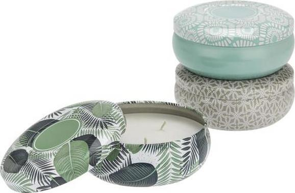 Duftkerze Cindy In Versch. Designs - Multicolor/Weiß, Metall (13,2/5,5cm) - Mömax modern living