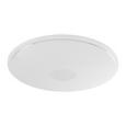 Plafonieră Led Ross - alb/opal, Romantik / Landhaus, plastic/metal (68/8cm) - Premium Living