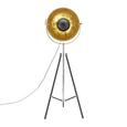 Lampadar Jule - auriu/negru, Lifestyle, metal (50/176cm) - Modern Living