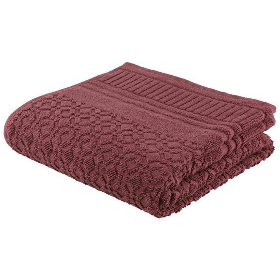Handtuch Carina Mauve - Lila, ROMANTIK / LANDHAUS, Textil (50/100cm) - Mömax modern living