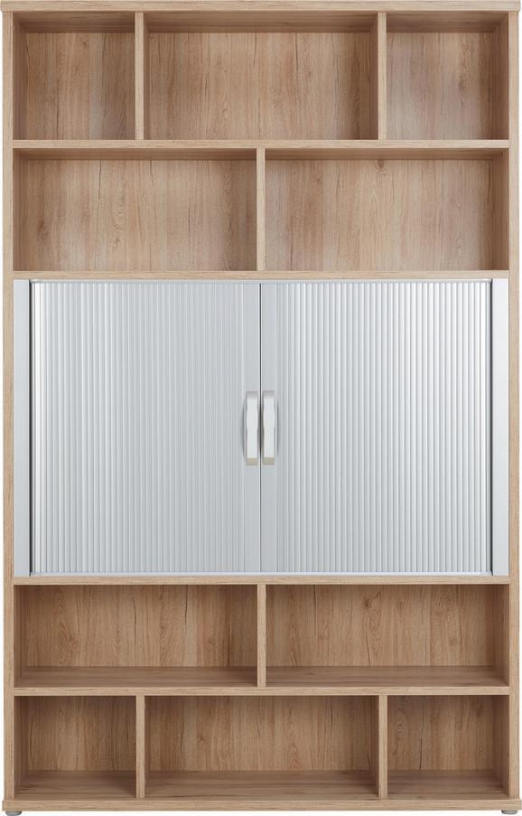 Kombinacija Regalov Ducato - hrast, Moderno, kovina/umetna masa (140/217/40cm) - PREMIUM LIVING