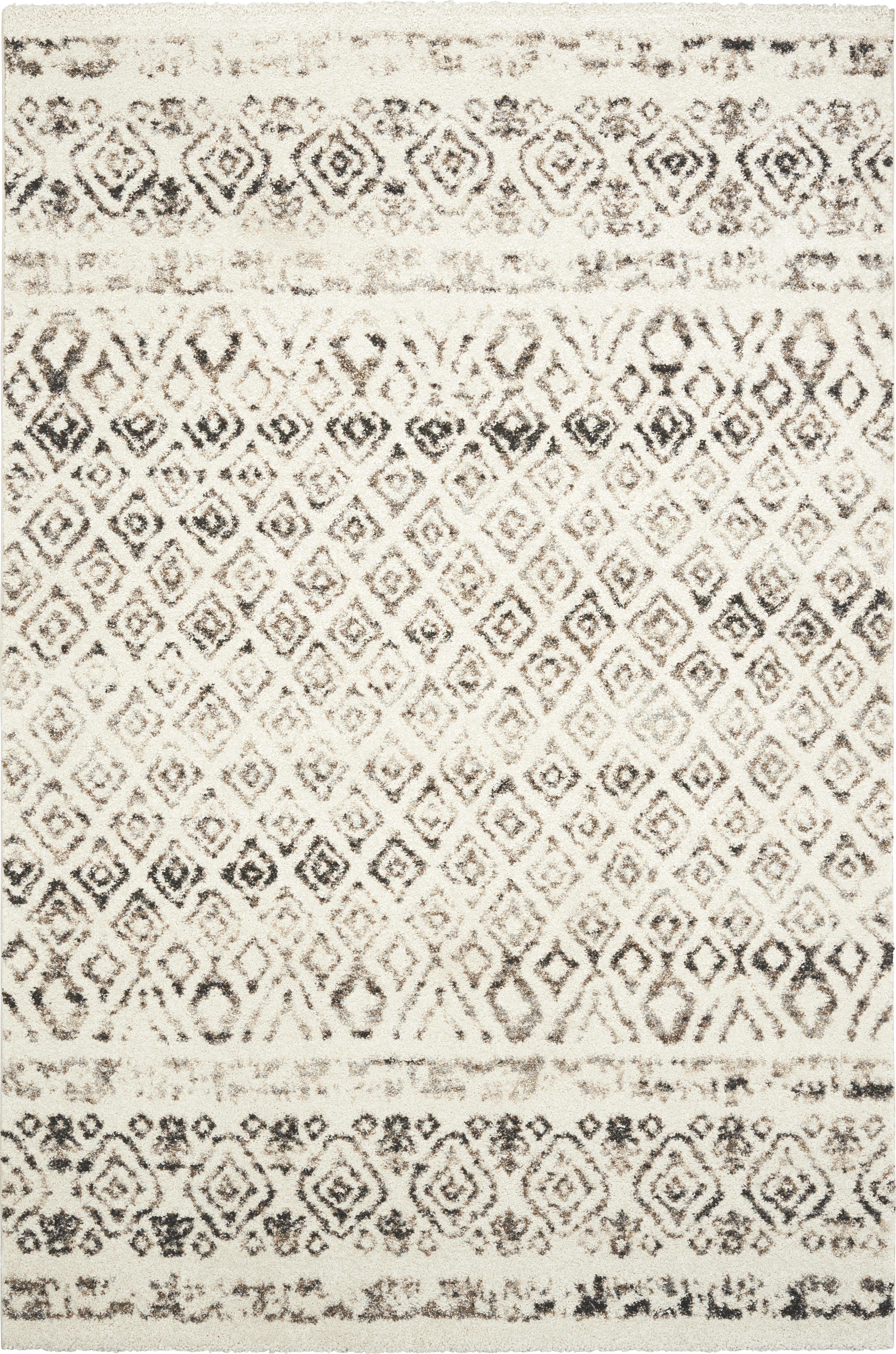 Webteppich Elegant in Creme, ca.120x170cm - Creme, LIFESTYLE, Textil (120/170cm) - MÖMAX modern living