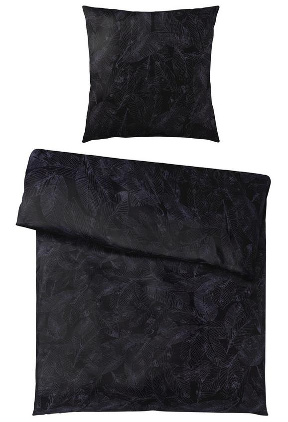 Bettwäsche in Schwarz, ca. 135x200cm - Schwarz, MODERN, Textil (135/200cm) - Mömax modern living