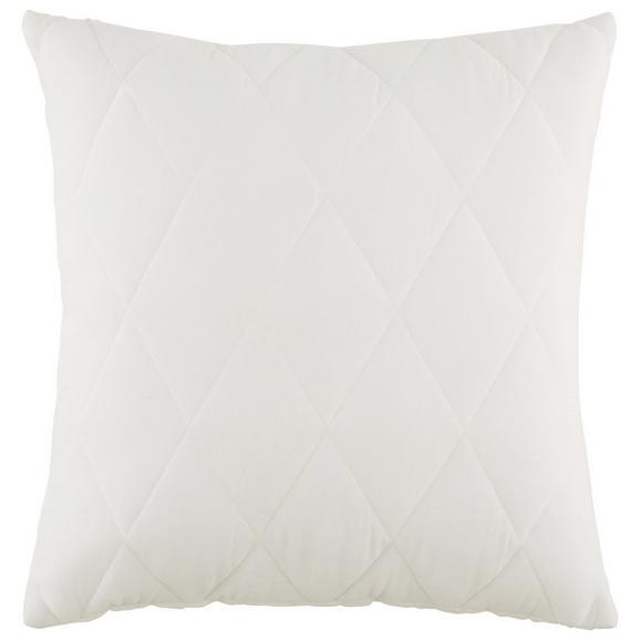 Okrasna Blazina Quilt - bela, Romantika, tekstil (45/45cm) - Mömax modern living