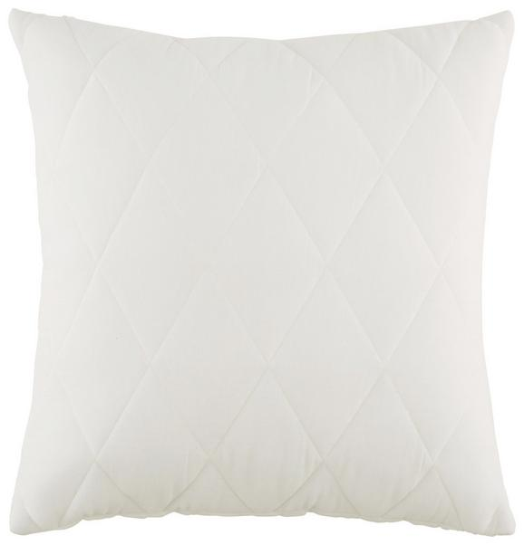Zierkissen Quilt in Weiß ca. 45x45cm - Weiß, ROMANTIK / LANDHAUS, Textil (45/45cm) - Mömax modern living