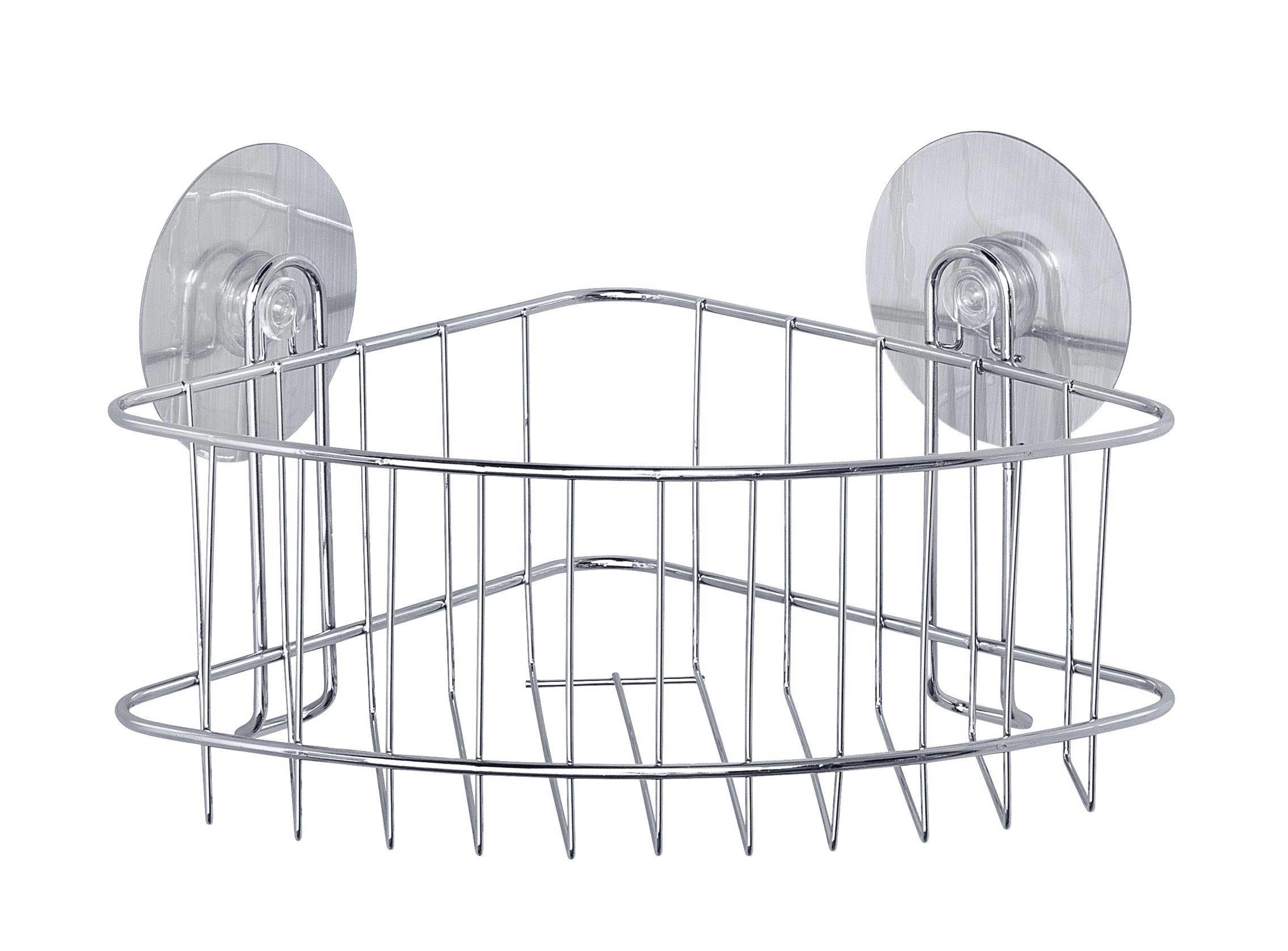 Duschregal aus Stahl - MODERN, Metall (26,5/16/19cm) - MÖMAX modern living