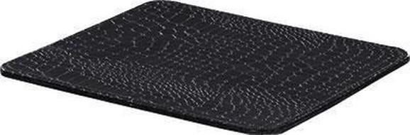 Egérpad Krokodilbőr Hatás - fekete, Lifestyle, karton (23,5/0,4/19cm) - MÖMAX modern living