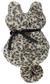 Fellkissen Kitty Leopardenprint - Schwarz/Braun, Trend, Textil (40/70cm) - Mömax modern living