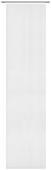 Flächenvorhang Uni Weiß 60x245cm - Weiß, MODERN, Textil (60/245cm) - Mömax modern living