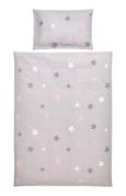 Otroška Posteljnina Scarlett -ext- - roza/siva, tekstil - Mömax modern living