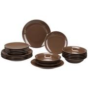 Kombiservice Inka Aus Steinzeug 18 Teilig Braun Keramik Mömax Modern Living