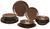 Kombiservice Inka aus Steinzeug, 18-teilig - Braun, Keramik - Mömax modern living