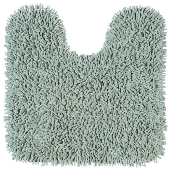 WC-Vorleger Jenny Dunkelgrün - Dunkelgrün, Textil (55/55cm) - Mömax modern living