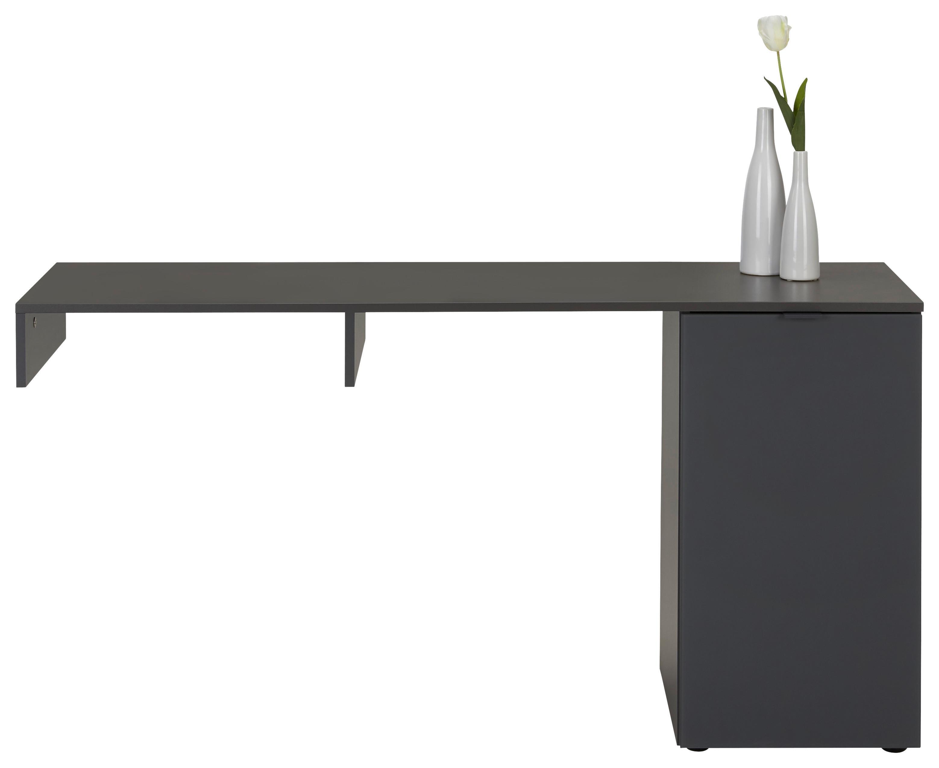 TV-Aufsatz in Graphitfarben | Wohnzimmer > TV-HiFi-Möbel | Premium Living