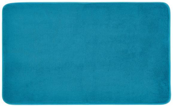 Badematte Aktion Verschiedene Farben - Taupe/Türkis, Textil (45/75cm) - Mömax modern living