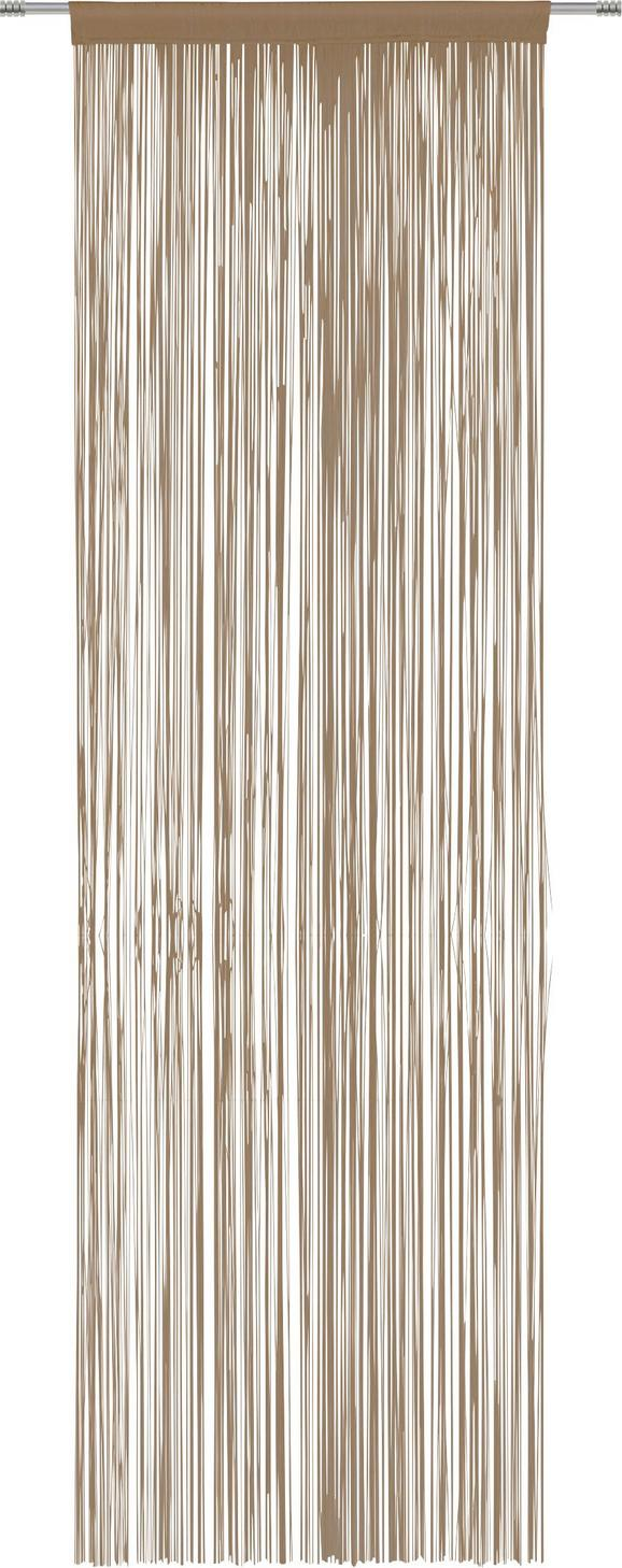 Fadenstore Victoria ca. 90x245cm - Braun, Textil (140/245cm) - MÖMAX modern living