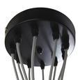 Hängeleuchte max. 25 Watt 'Padua' - Grau, MODERN, Kunststoff (22/147cm) - Bessagi Home