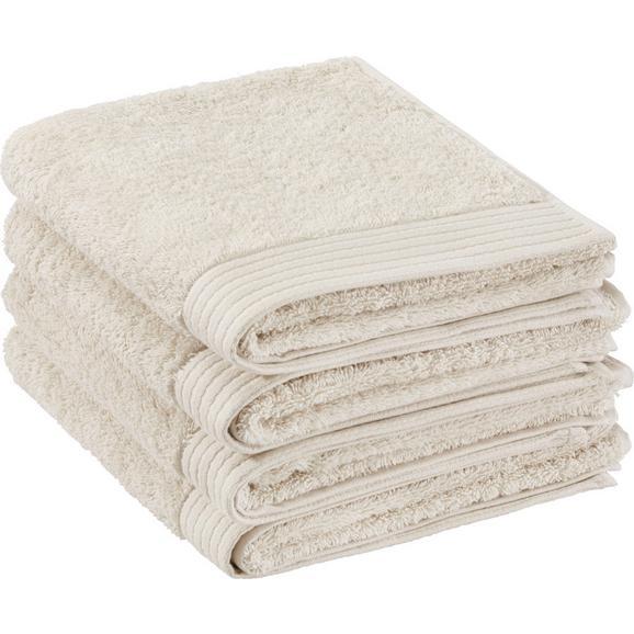 Handtuch Dolly ca.50x100cm - Naturfarben, KONVENTIONELL, Textil (50/100cm) - Bessagi Home