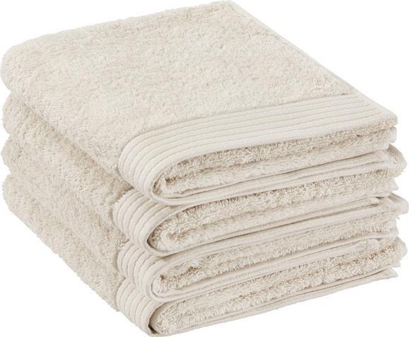 Handtuch Dolly ca.50x100cm - Naturfarben, KONVENTIONELL, Textil (50/100cm) - Mömax modern living