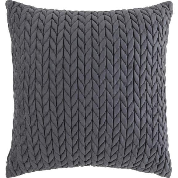 Okrasna Blazina Heidi - siva, Romantika, tekstil (45/45cm) - Mömax modern living