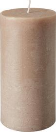 Tömbgyertya Ruth-rustik - Világoszöld/Fáradt rózsaszín, modern (10/20cm) - Mömax modern living