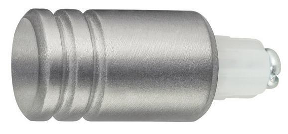 Zaključni Element Endstück Rill - nerjaveče jeklo, Moderno, kovina (1/1/1cm) - Mömax modern living