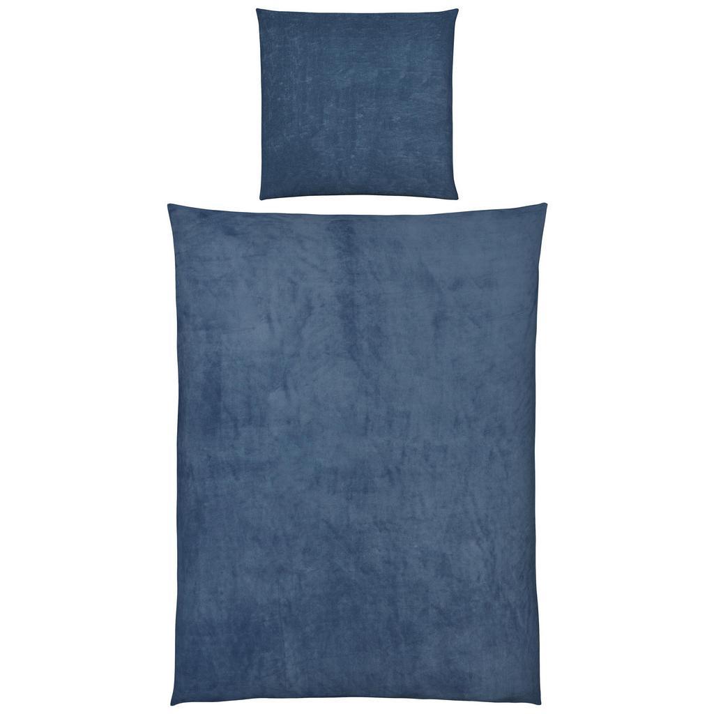 Bettwäsche Cashmere Blau 135x200cm