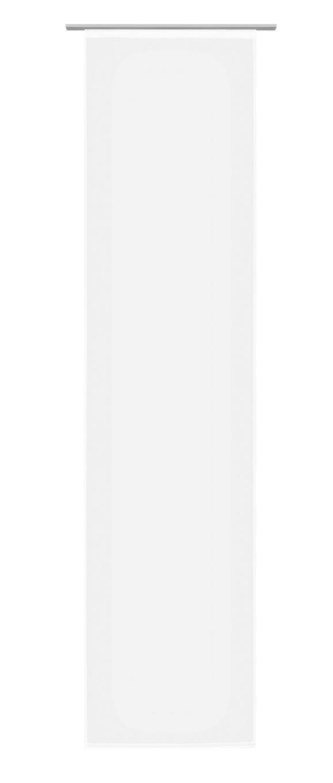 Panelna Zavesa Stella Uni - bela, Romantika, tekstil (60/245cm) - Mömax modern living
