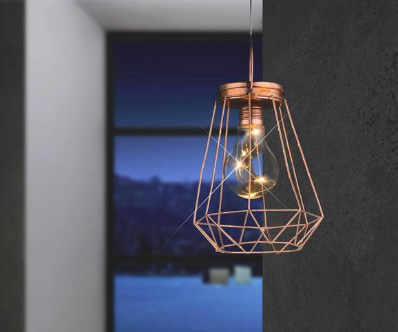 LED-Dekoleuchte Spacy, max. 0,06 Watt - Kupferfarben, MODERN, Metall (15,5/15cm)
