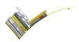 Wandregal Gelb - Gelb, Metall (30/75/18cm) - MÖMAX modern living