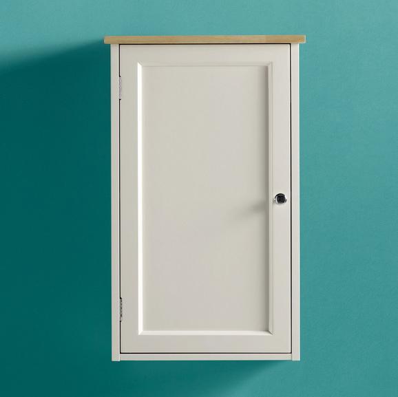 Oberschrank Jule - Fichtefarben/Weiß, MODERN, Holz/Metall (38/61,5/17,5cm) - Modern Living