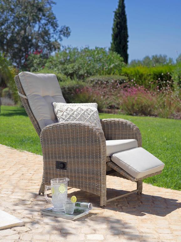 Relaxsessel Monaco in Braun - Beige/Braun, MODERN, Kunststoff/Textil (64/74/112cm) - Mömax modern living