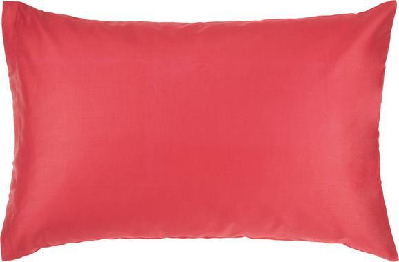Prevleka Blazine Belinda - rdeča, tekstil (40/60cm) - Premium Living