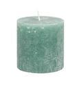 Sveča Ruth - Rustik -top- - siva/zelena (10/10cm) - Mömax modern living