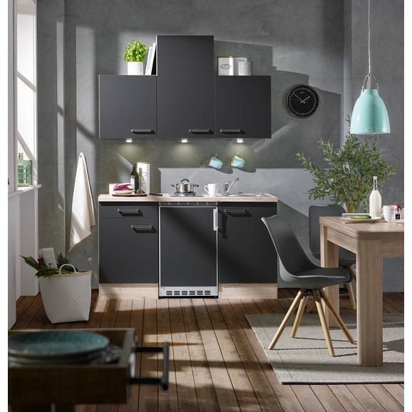Küchenblock Milano Anthrazit/Eiche online kaufen mömax