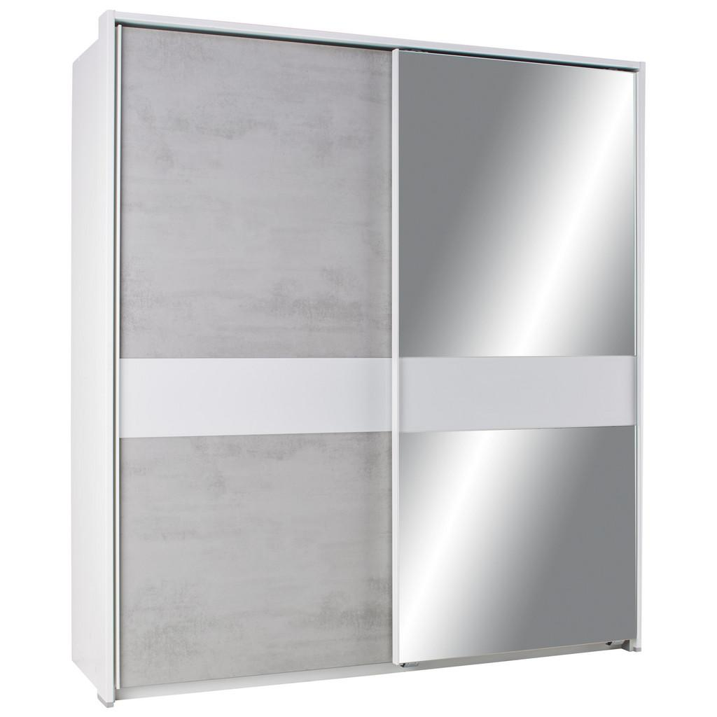schwebet renschrank spiegel schwarz klaus moser. Black Bedroom Furniture Sets. Home Design Ideas