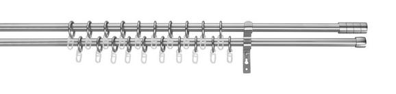 Set Za Drog Za Zavese Joko 2 - nerjaveče jeklo, kovina (240cm) - Premium Living