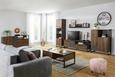 Tv-element Steel - hrast/rjava, Trendi, kovina/umetna masa (168/55/40cm) - Modern Living