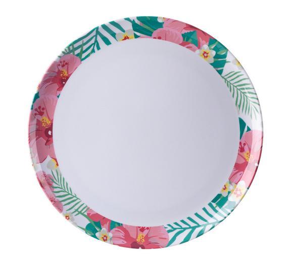 Teller Magali L in Bunt - Multicolor, Kunststoff (25cm) - MÖMAX modern living