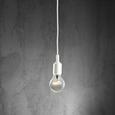 Hängeleuchte max. 60 Watt 'Abby' - Weiß, MODERN, Kunststoff (9/92cm) - Bessagi Home