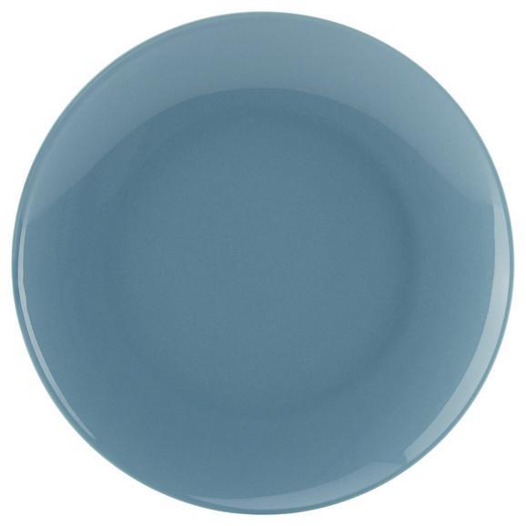 Farfurie Pentru Desert Sandy - albastru, Konventionell, ceramică (20,4/1,8cm) - Mömax modern living