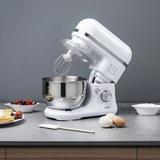 Küchenmaschine Silva Schneider - Weiß, MODERN, Kunststoff/Metall (22/35/37,5cm) - SILVA HOMELINE