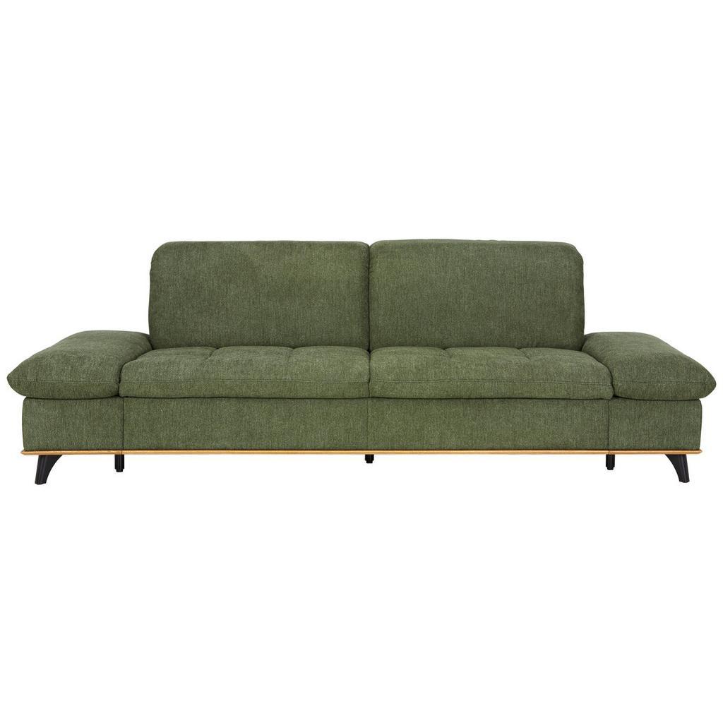 Dreisitzer-Sofa in Grün